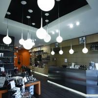 CASTORE suspension - Bialetti Show Room, Photo Miro Zagnoli    Arch Studio 63