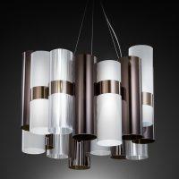 SLAMP-La-Lollo-Pendant-M-Pewter-Black-White-Luxury-Modern-Italian-Lighting