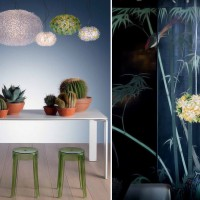 bloom-round-suspension-lamp kartell-7