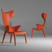 fauteuil-contemporain-cuir-philippe-starck-eugeni-quitllet-driade