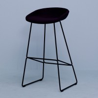 Hay-About-a-Stool-AAS39-Sled-base-Upholstered