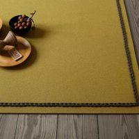 Contemporary rug / wool / plain